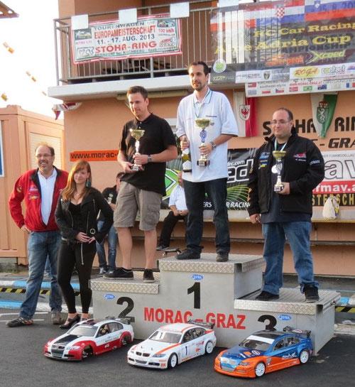 Gesamtwertung ICM 2012 Klasse:LS Tourenwagen 1. HASLINGER Andreas AT MACG-Steiermark 2. ZETTEL Thomas AT MORAC-Graz 3. ASLANIDES Alexander DE MORAC-Graz