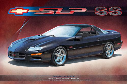 Dessin de Camaro SS 1998, Dessin de Camaro SS 1999, Dessin de Camaro SS 2000, Dessin de Camaro SS 2001, Dessin de Camaro SS 2002