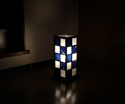 彩り障子のLED照明