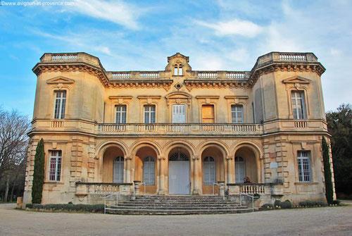 Le Château de Montauban à Fontvieille
