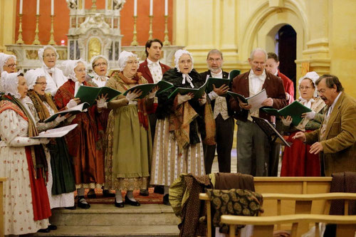 Folklore de Noël à Aix en Provence
