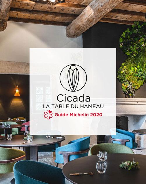 Cicada, la Table du Hameau, restaurant gastronomique à Paradou