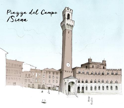 SIENNE PIAZZA DEL CAMPO SIENA JDAN MARCELLOOO.FR BLOG VOYAGE ITALIE TOSCANE