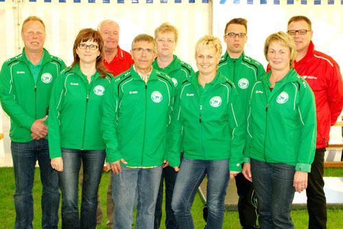 Vorstand des SV Osterland Lumpzig e.V.