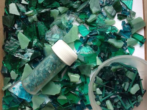 Fusing Künstler Glas selbermachen
