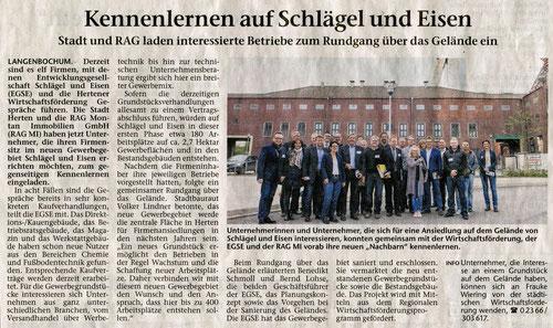 25.9.2015 Hertener Allgemeine
