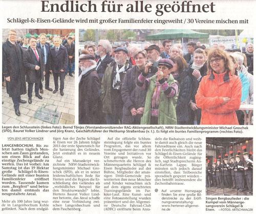 2.5.2016 Hertener Allgemeine
