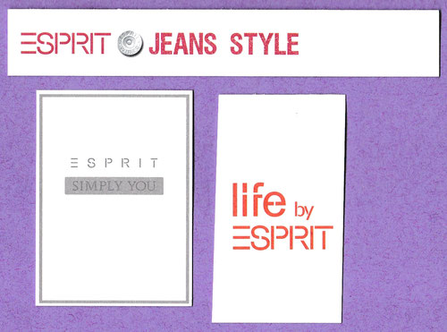 ESPRIT - LOT DE 3 CARTES DISPONIBLES A L'UNITE OU PAR LOT