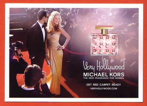 MICHAEL KORS : CARTE POSTALE - VERY HOLLYWOOD - 2012 : RECTO - VERSO IMPRIME SANS PATCH