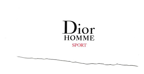 DIOR HOMME SPORT : RECTO
