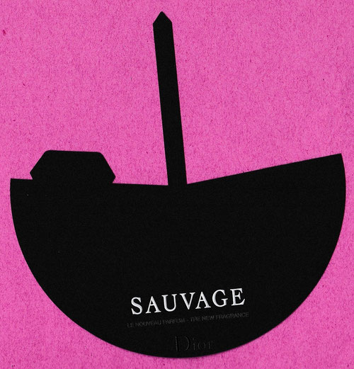 2015 - CARTE EVENTAIL : NOUVELLE FRAGRANCE SAUVAGE