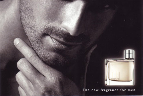 DUNHILL FOR MEN - GRANDE CARTE : RECTO