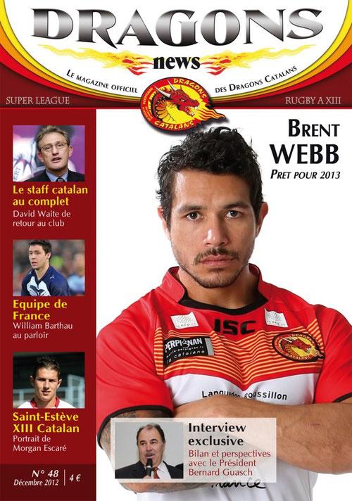 Dracs News - Décembre 2012 © Dragons Catalans
