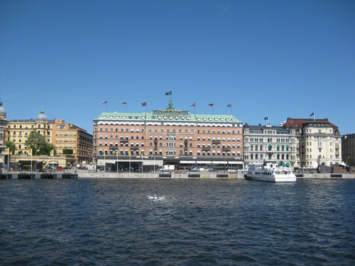 Harbour in Stockholm - Kunnasberg Language Academy