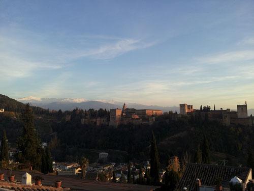 Alhambra in der Stadt von Granada - kunnasberg.de