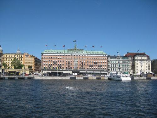 Hafen in Stockholm - Kunnasberg-Sprachschule