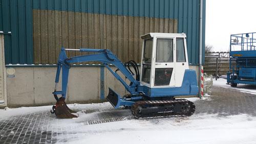 Kubota mini graver 2500 kg   prijs 5500,-