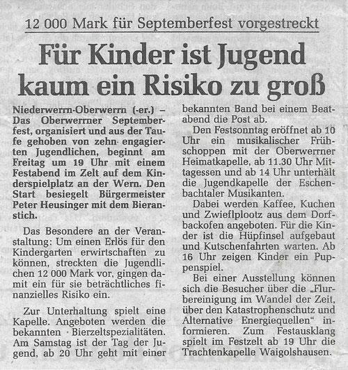 07.09.1993 Schweinfurter Tagblatt