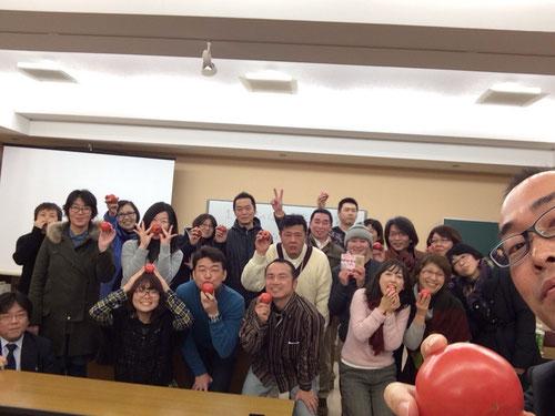 ITフル活用塾受講者全員で記念撮影!
