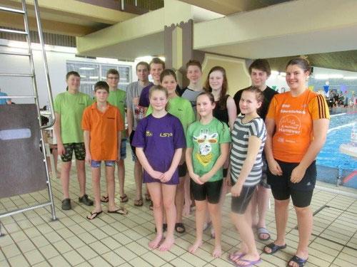 unsere SG-Schwimmer