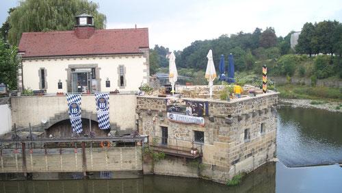 das östlichste Restaurant Deutschlands, die Vier-Raden-Mühle