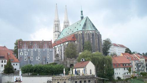 Es ist nicht weit zur Görlitzer Altstadt...