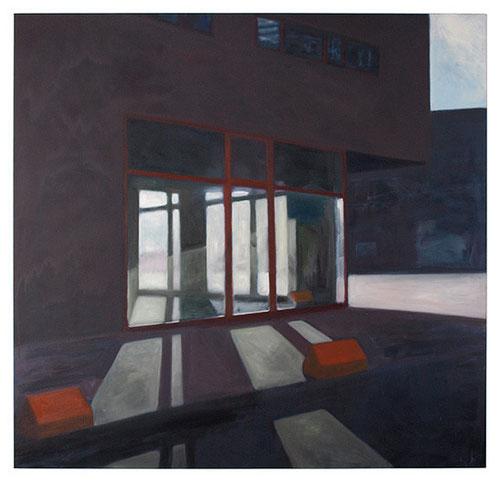 _140 x 145 cm, Öl auf Baumwolle, 2012
