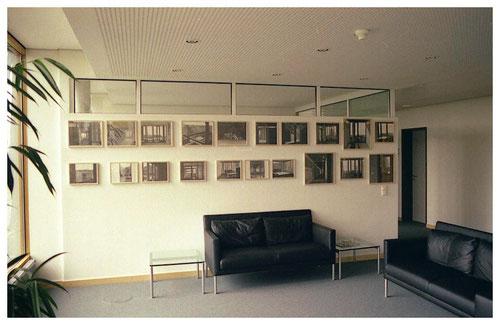 _ Kunst am Bau für die Landesversicherungsanstalt Hamburg: Zeichnungen vor Ort, 2002