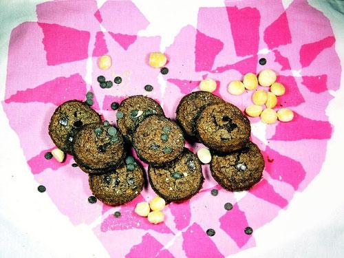 Paleo Schoko Macadamia Muffins