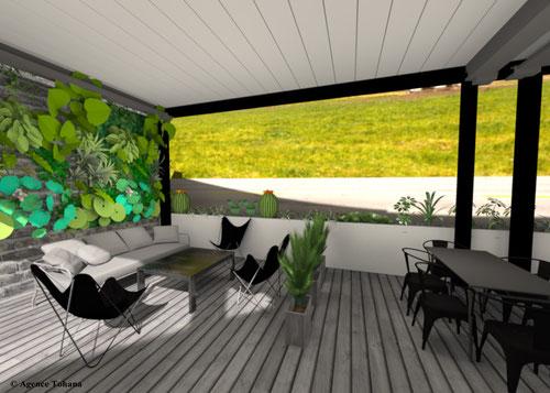 Décoration et aménagement d'un restaurant à la Réunion 974