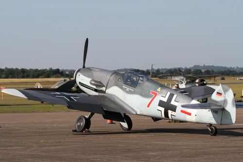 Messerschmitt Bf-109G4 (copyright:LC)
