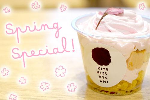 清水京あみ 期間限定 桜のチーズケーキ