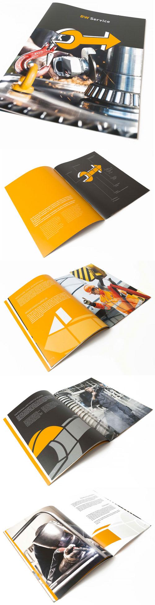 BW Service AG: Image Broschüre  | Layout und Grafik Lockedesign 2014, Fotographie by Manuel Stettler