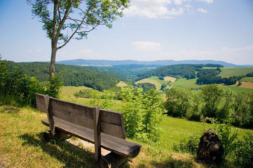 Schöne Aussicht im Schwarzwald