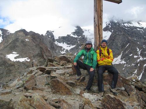 Auf dem Gipfel des Jegihorns (3206m)m