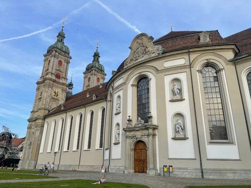 Die Kathedrale von Sankt Gallen.