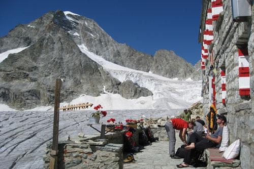 Ausschlafen, Erholen und Geniessen auf der Rothornhütte 3891m