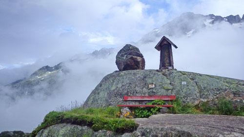 Auf dem Weg zur Bergseehütte