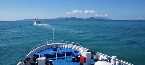 Überfahrt nach Elba