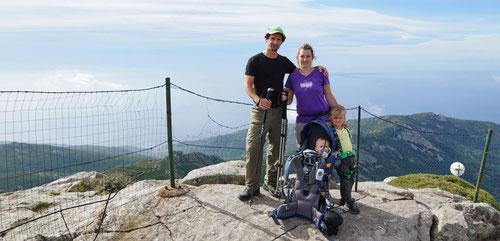Auf dem höchsten Punkt von Elba: Monte Capanne (1019m)