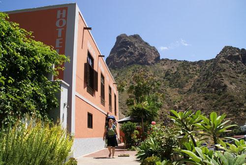 Unsere Unterkunft in Vallehermoso