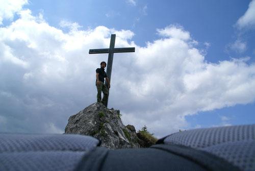 Auf der Nocksteinspitze