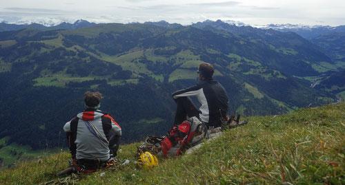 Bergkameraden unter sich.