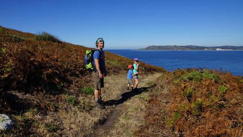 Farbenprächtige Wanderung auf den Monte da Insua.