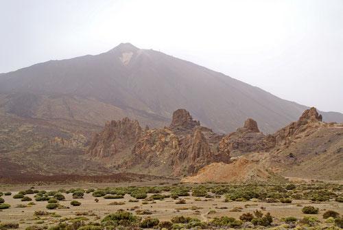 Blick zurück zum Gipfel