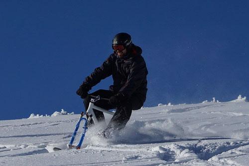 Dominik auf Snowbunny
