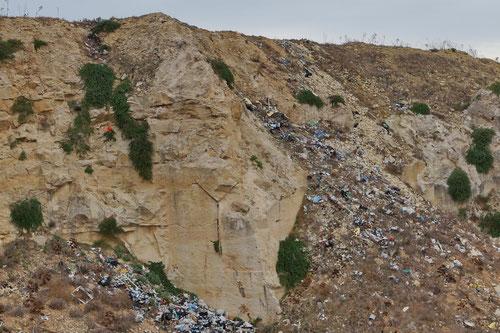 Abfallentsorgung auf Gozo :(