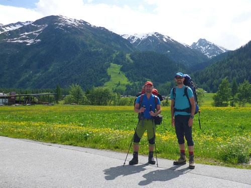 Und los geht es in Oberwald.