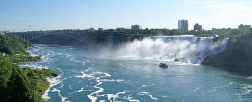 Die Amerikanischen Wasserfälle