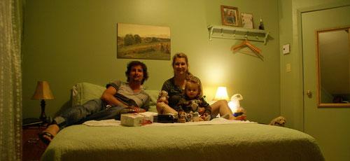Unser Pouletschmaus im kleinen Zimmerchen